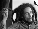 Bob Marley Jamaican Reggae Singer/Writer Talking Duing an Interview for the Daily Mirror Plakat