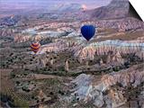 Balloon Ride over Cappadocia, Turkey Posters by Joe Restuccia III