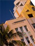 Art Deco Design of Cavalier Hotel, South Beach, Miami, Florida, USA Posters by Nancy & Steve Ross