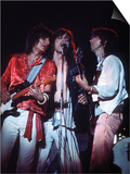 The Rolling Stones Concert June 1975 , Mick Jagger, Ronnie Wood and Keith Richards Posters