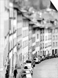 Old City Buildings in Berne, Switzerland Art by Walter Bibikow