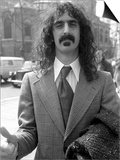 Frank Zappa at Court Over a Conert Cancellation Print