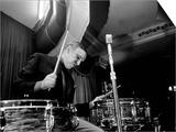 Jazz Performer Buddy Rich, Drummer on Kit, 1960s Prints