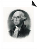 Official Portrait of President George Washington Prints