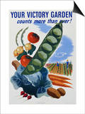 Your Victory Garden Poster Posters