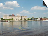 Riverfront Skyline, Wilmington, North Carolina Print by Lynn Seldon
