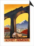 Soviet Armenia Poster Art