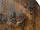 Door Lock, Vogo Stave Church, Vagamo, Norway Posters by Russell Young