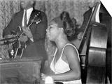 Jazz Singer Nina Simone, Performing at Annie's Club, June 1965 Art