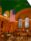 Interior View of Grand Central Station, New York, USA Poster by Nancy & Steve Ross