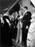 Marilyn Monroe Meets Queen Elizabeth II at the Royal Film Show, October 1956 Posters