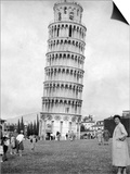 Leaning Tower of Pisa, Italy, May 1955 Print