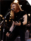 Metallica Guitarist James Hetfield Umělecké plakáty