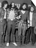 Jethro Tull Rock Group, Lead Singer Ian Anderson 2nd Right, Meledy Maker Awards Posters