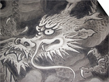 Dragon Head, Kyoto, Japan Print by Shin Terada