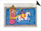 Arjuna and Krishna Prints