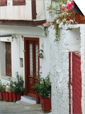 Street Detail, Vathy, Samos, Aegean Islands, Greece Prints by Walter Bibikow