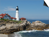 Portland Head Light, Cape Elizabeth, Maine Prints by Keith & Rebecca Snell