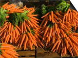 Carrots, Metkovic, Dalmatia, Croatia Prints by Russell Young