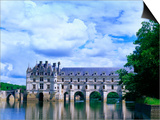 16th Century Castle on the River Cher, Chateau de Chenonceau, Loire Valley, France Posters by Jim Zuckerman