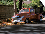 Old GMC Truck During Fall, Santa Barbara, California, USA Prints by Savanah Stewart