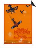 Canadian World War One Recruiting Poster Print