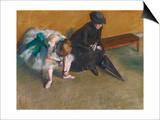 Waiting Prints by Edgar Degas