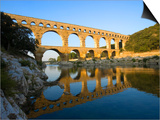 The Pont du Gard Roman Aquaduct Over the Gard River, Avignon, France Prints by Jim Zuckerman