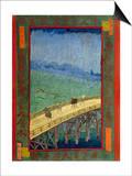 Bridge in the Rain (After Hiroshige) Prints by Vincent van Gogh