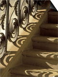 Wrought Iron Shadows, Charleston, South Carolina, USA Prints by Julie Eggers