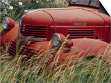 Old Truck in Grassy Field, Whitman County, Washington, USA Posters by Julie Eggers