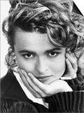 Helena Bonham Carter Actress the New Face of Yardley Cosmetics Print