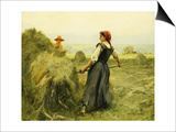 Haymaking Prints by Julien Dupre