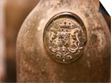 Antique Wine Bottle with Molded Seal, Chateau Belingard, Bergerac, Dordogne, France Prints by Per Karlsson
