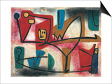 Uebermut (Arrogance) Prints by Paul Klee