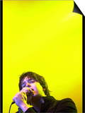 The Strokes Frontman Julian Casablancas on Stage T in the Park at Balado, 11th July 2004 Plakát