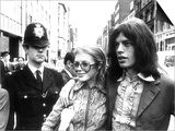 Mick Jagger Singer and Marianne Faithfull, May 1969 Prints