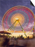 Ferris Wheel Motion, California State Fair, Sacramento, California Kunst af Mark Gibson
