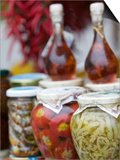 Marinated Vegetables, Positano, Amalfi Coast, Campania, Italy Prints by Walter Bibikow