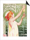 Absinthe Robette Poster Prints by Privat Livemont