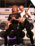80s Rock Legends Status Quo, Francis Rossi and Rick Parfitt, in Concert in Sweden, June 2005 Poster
