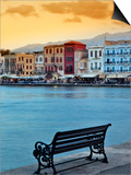 Chania at Dusk, Chania, Crete, Greece Prints by Adam Jones