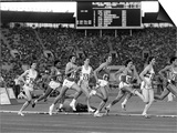 Sebastion Coe and Steve Ovett at Moscow Olympics 1980 Prints
