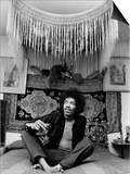 Jimi Hendrix World Famous Guitarist Prints