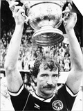 1989 Graeme Souness Rangers and Scotland Football Player with Sir Stanley Rous Trophy Posters
