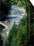 Tahquamenon Falls, Tahquamenon Falls State Park, Michigan, USA Prints by Claudia Adams