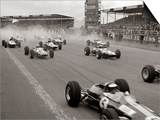 Start of the British Grand Prix at Siverstone, 1965 Art