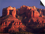 Charles Sleicher - Cathedral Rock at Sunset, Sedona, Arizona, USA Obrazy