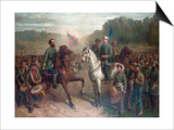 The Last Meeting Between General Robert E. Lee and Stonewall Jackson Prints