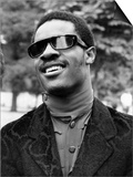 Stevie Wonder, Blind American Singing Star, Announced His Engagement to Singer Syreeta Wright Posters